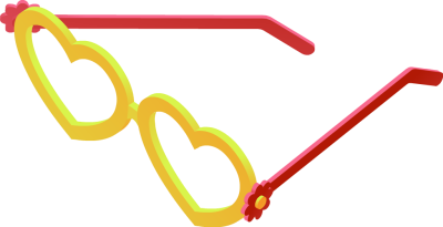 Heart-shaped clipart funky Download Clip Funky Glasses Heart