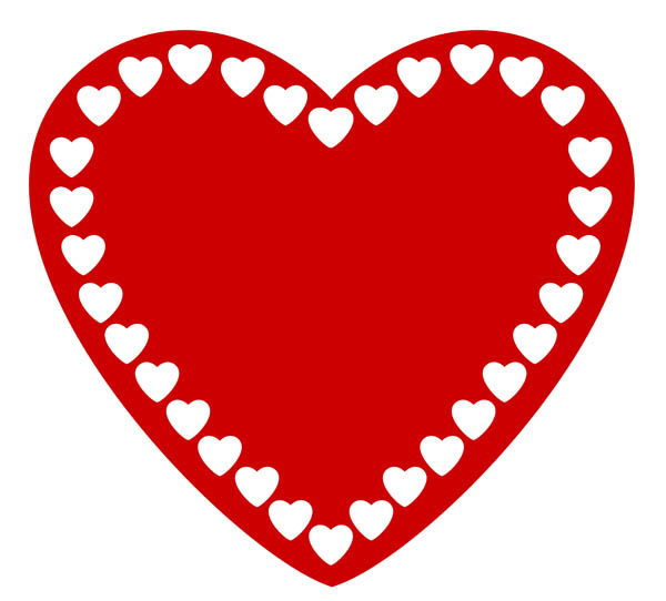 Small clipart love heart Clipart funky Cute heart heart
