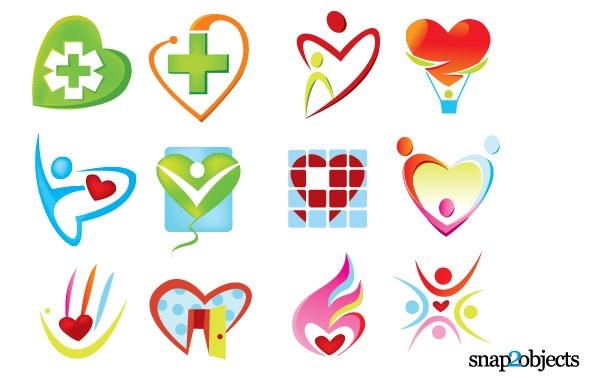 Heart-shaped clipart funky Funky Various Style Various Funky