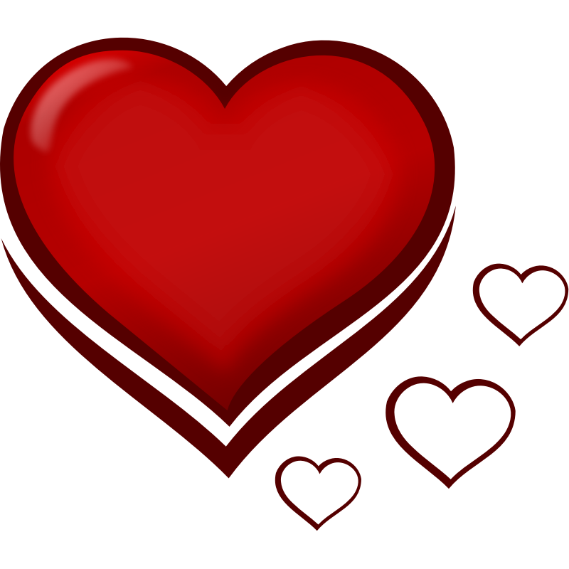 Heart-shaped clipart gif small #10