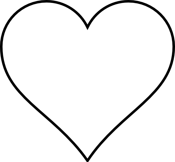 Amd clipart love Free  Heart #2375 White