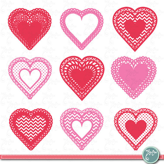 Heart-shaped clipart haerts #4