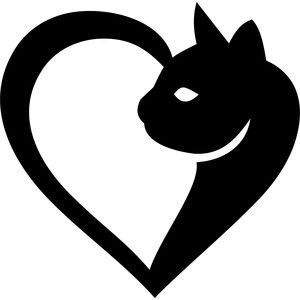 Heart-shaped clipart half heart SYMBOL HALF CAT 3253 SHAPED