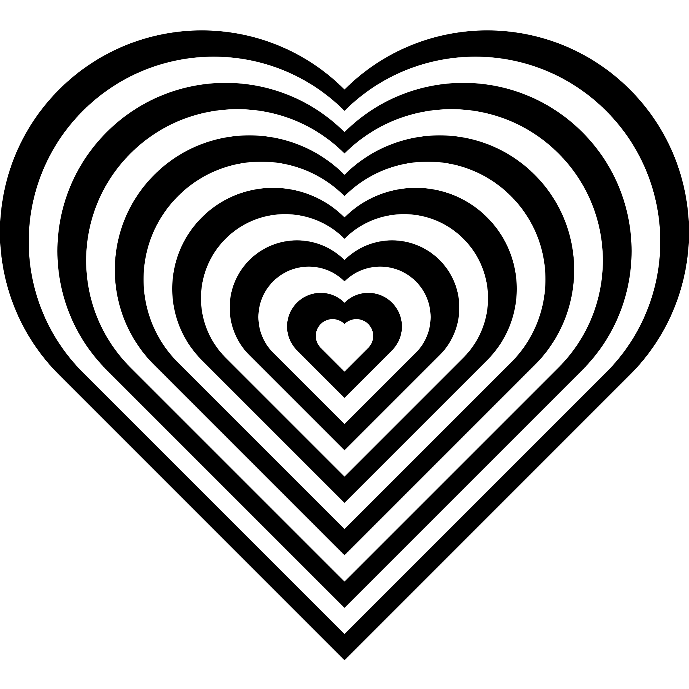 Heart-shaped clipart half heart Heart geometric Clipart heart zebra