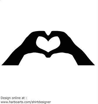 Heart-shaped clipart hand Download Hands Clipart Shaped Heart