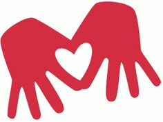 Heart-shaped clipart hand Heart silhouette Heart Forming (51+)