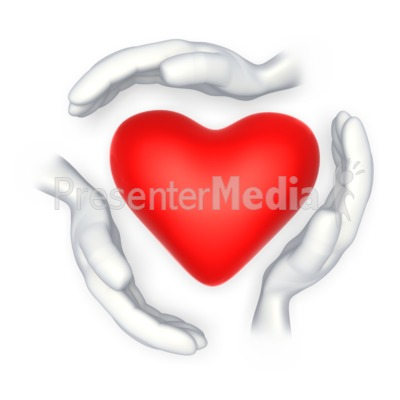 Heart-shaped clipart hand Hands Shape Great Around Medical