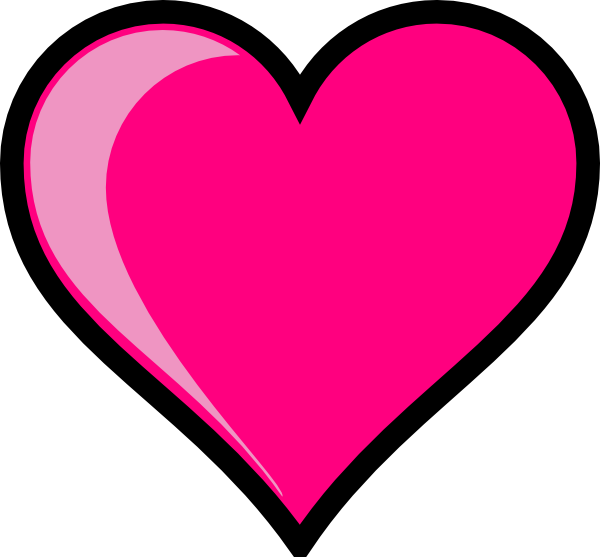 Hearts clipart pink heart Of that a clip set