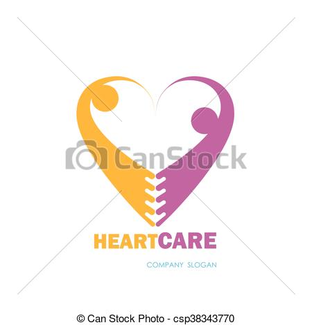 Heart-shaped clipart healthcare Csp38343770 symbol & with &