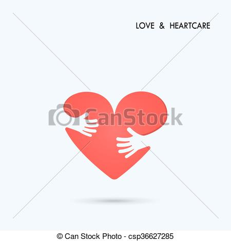 Heart-shaped clipart healthcare With symbol Medical logo Heart