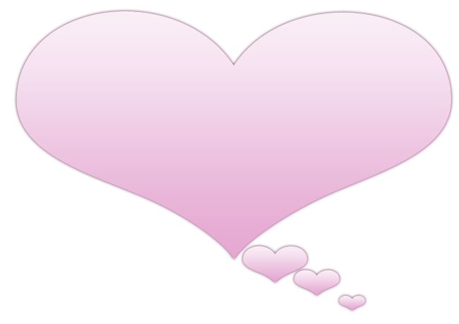 Heart-shaped clipart heart bubbles Heart Thoughts & Of bubble