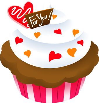Heart-shaped clipart heart cake A a Clip with of