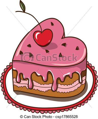Heart-shaped clipart heart cake Vector heart EPS cake Paper