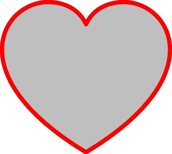 Heart-shaped clipart heart outline Clipart Panda Clipart Art Free