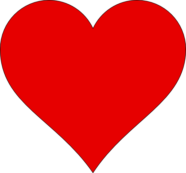 Heart-shaped clipart heart outline Heart Shape Cliparts Clipart The