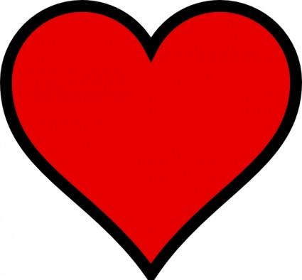 Heart-shaped clipart heart outline Heart Shape Panda free Clipart