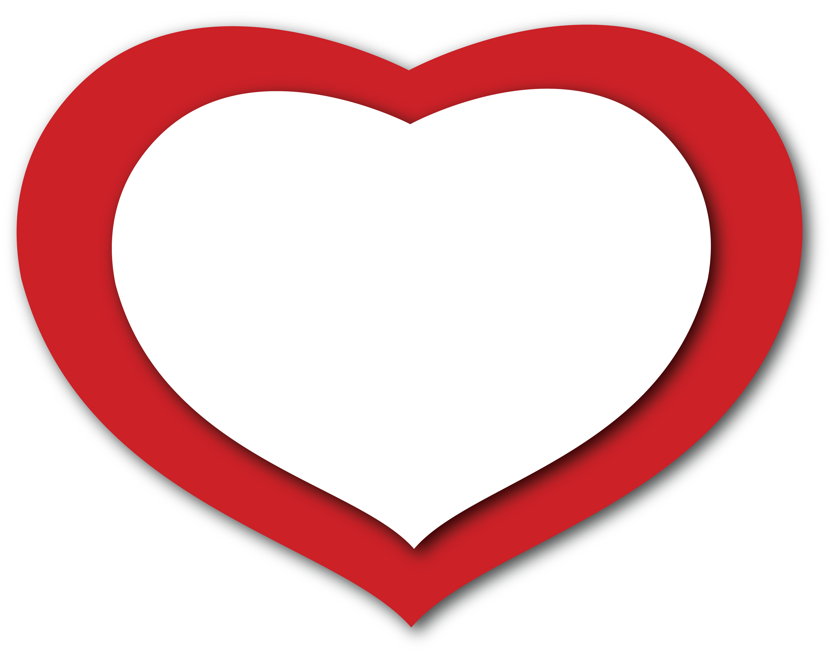 Gallery clipart transparent background Heart on Free  Clip