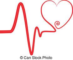 Lines clipart heart beat Beat 21 royalty swirl beat