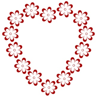 Heart-shaped clipart heart shape Borders Free clipart Clip Art