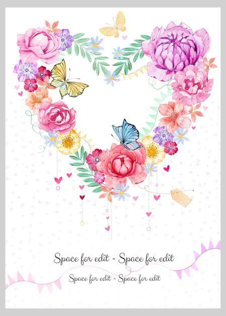 Heart-shaped clipart heart shape 101 flowers Nelson Pinterest Heart