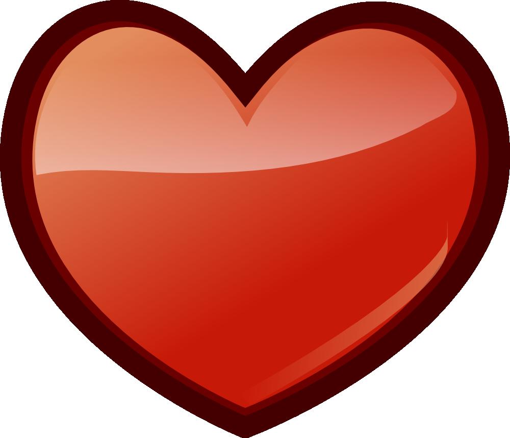 Heart-shaped clipart huge  Art Free Clip Free