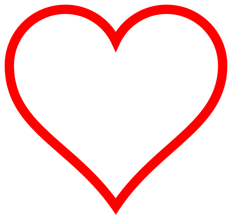 Heart-shaped clipart icon #12