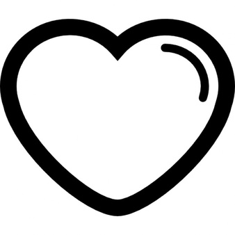 Heart-shaped clipart icon Shape and PSD Heart Shaped