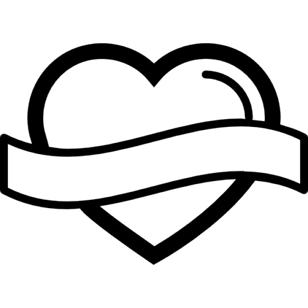 Heart-shaped clipart icon #7