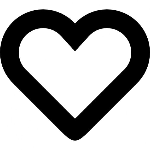 Heart-shaped clipart icon #9