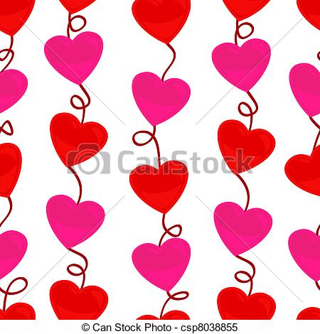 Heart-shaped clipart icon #1