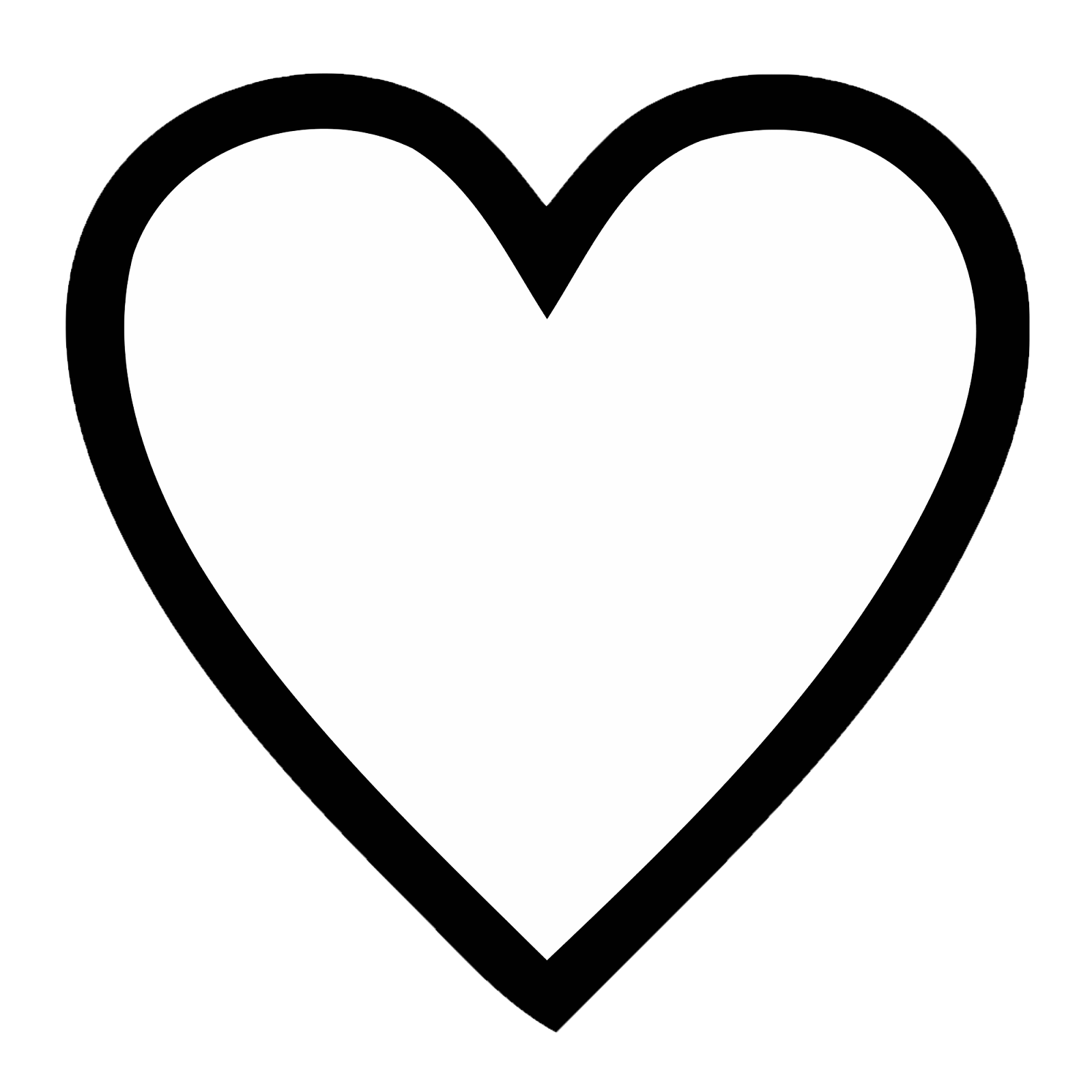 Hearts clipart drawn heart Images Heart real%20heart%20drawing Free Clipart
