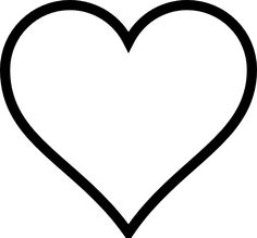 Heart-shaped clipart large heart #4