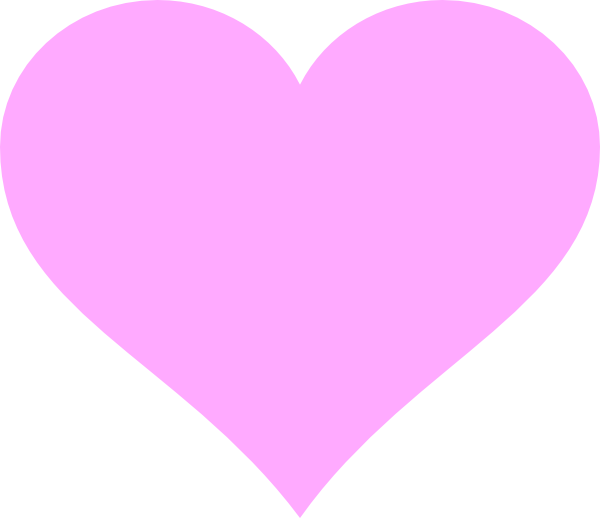 Heart-shaped clipart large heart #9