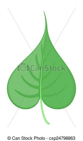 Heart-shaped clipart leaf #8