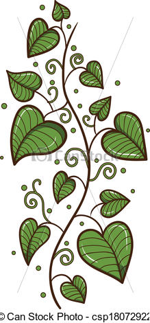 Heart-shaped clipart leaf #10