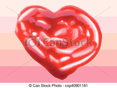 Heart-shaped clipart lip Illustration shaped Clip illustration lipgloss