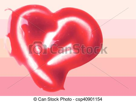 Heart-shaped clipart lip Shaped heart illustration shaped Lip