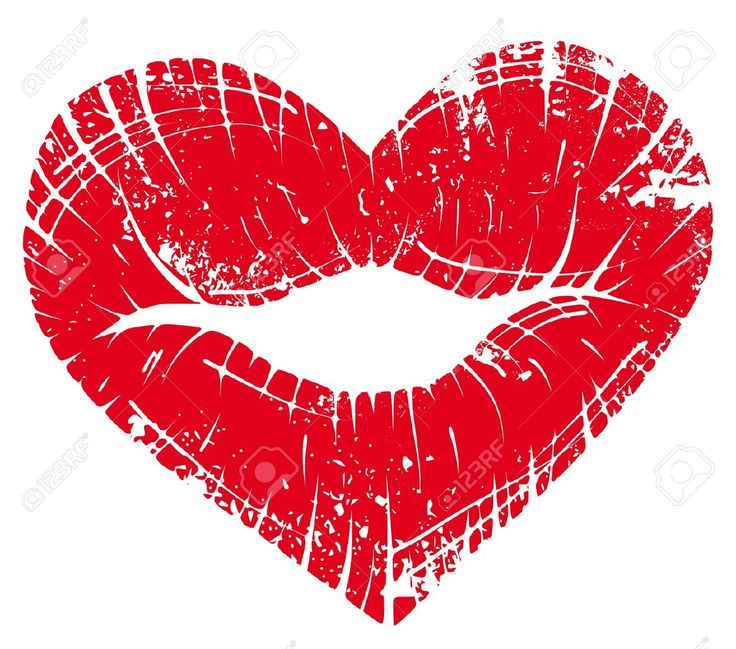Heart-shaped clipart lip Images about  23 Pinterest
