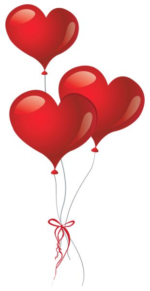 Heart-shaped clipart little red PNG Pinterest balloons Heart Picture