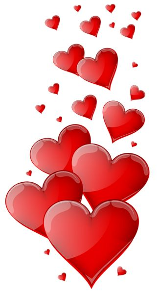 Heart-shaped clipart little red PNG Pinterest hearts Red Image