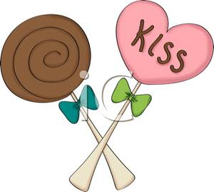 Heart-shaped clipart lollipop A Heart Lollipop A Lollipop