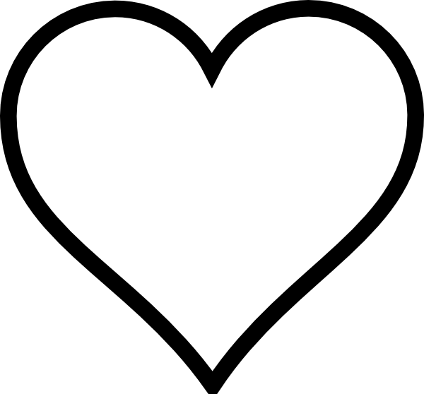 Heart-shaped clipart love symbol Shape clip online Download vector