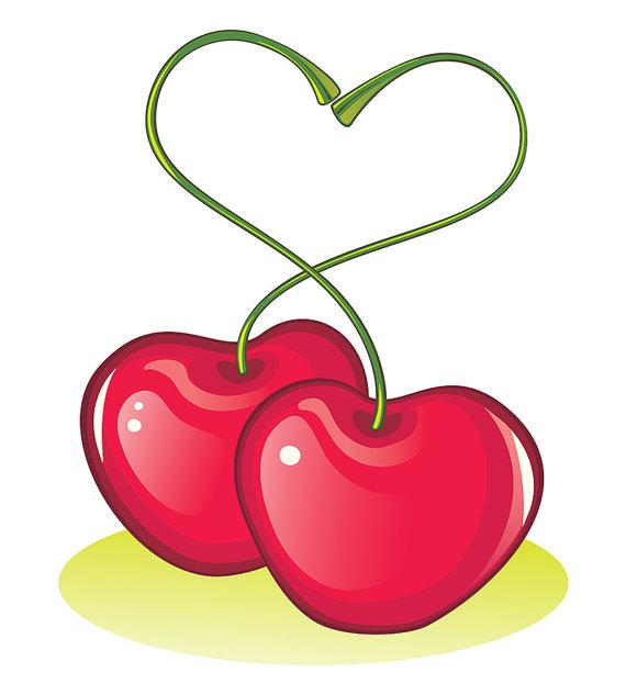 Heart-shaped clipart love symbol Vector Digital Love Symbol on