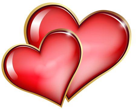 Heart-shaped clipart love symbol Hearts Double Hearts Symbol Facebook