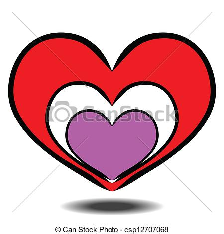 Heart-shaped clipart love symbol Panda heart%20shape%20clip%20art Heart Clipart Art