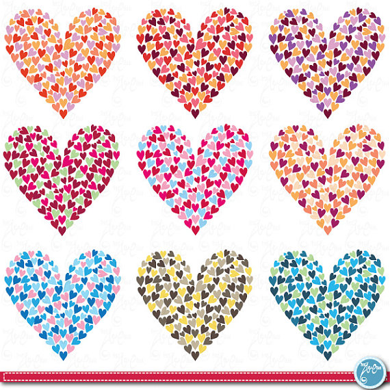 Heart-shaped clipart loveheart Mother's shape from day Clipart: