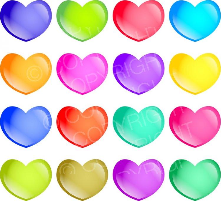 Heart-shaped clipart loveheart – Valentine Heart Love Clip
