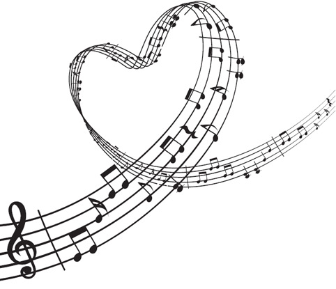 Heart-shaped clipart music notes Panda Images Shaped Music heart%20shaped%20music%20notes