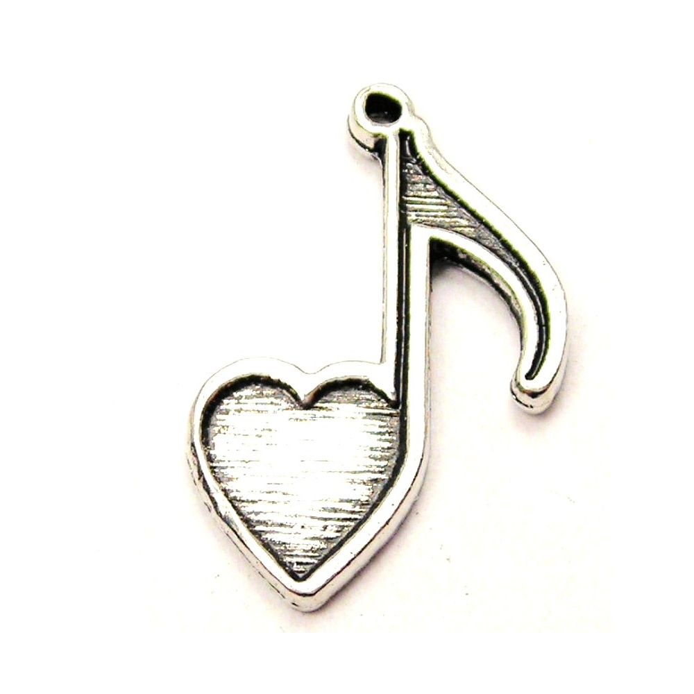 Heart-shaped clipart music notes Notes Image Shaped Music Notes