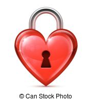 Heart-shaped clipart object Heart Shape Red Clipart